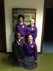 Girl's Debating Team at UCD