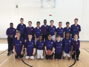 1st Year Basketball Team
